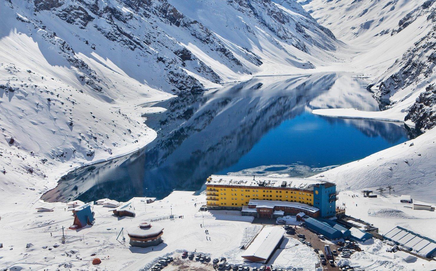 Estação de esqui em Portillo, no Chile