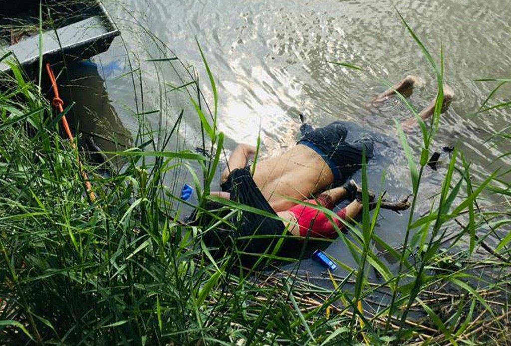 Pai e filha morrem afogados na fronteira entre o México e os Estados Unidos