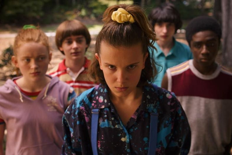 "Série ""Stranger Things"", da Netflix"