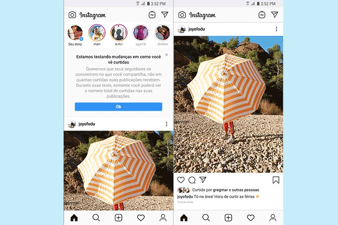 Instagram Sem Curtidas