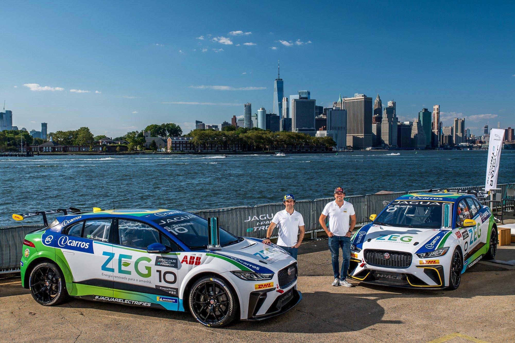 Jaguar I-PACE eTROPHY: competição em Nova York