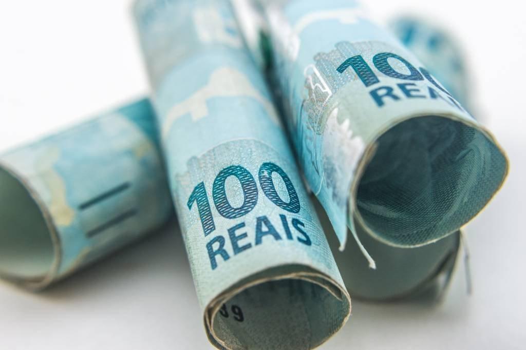 100 reais - dinheiro