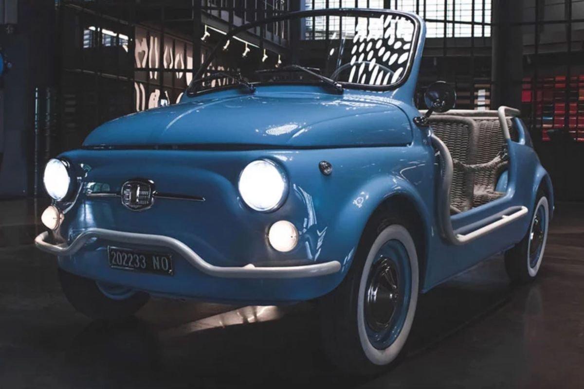 Fiat 500  Spiaggina: repaginado, com motor elétrico
