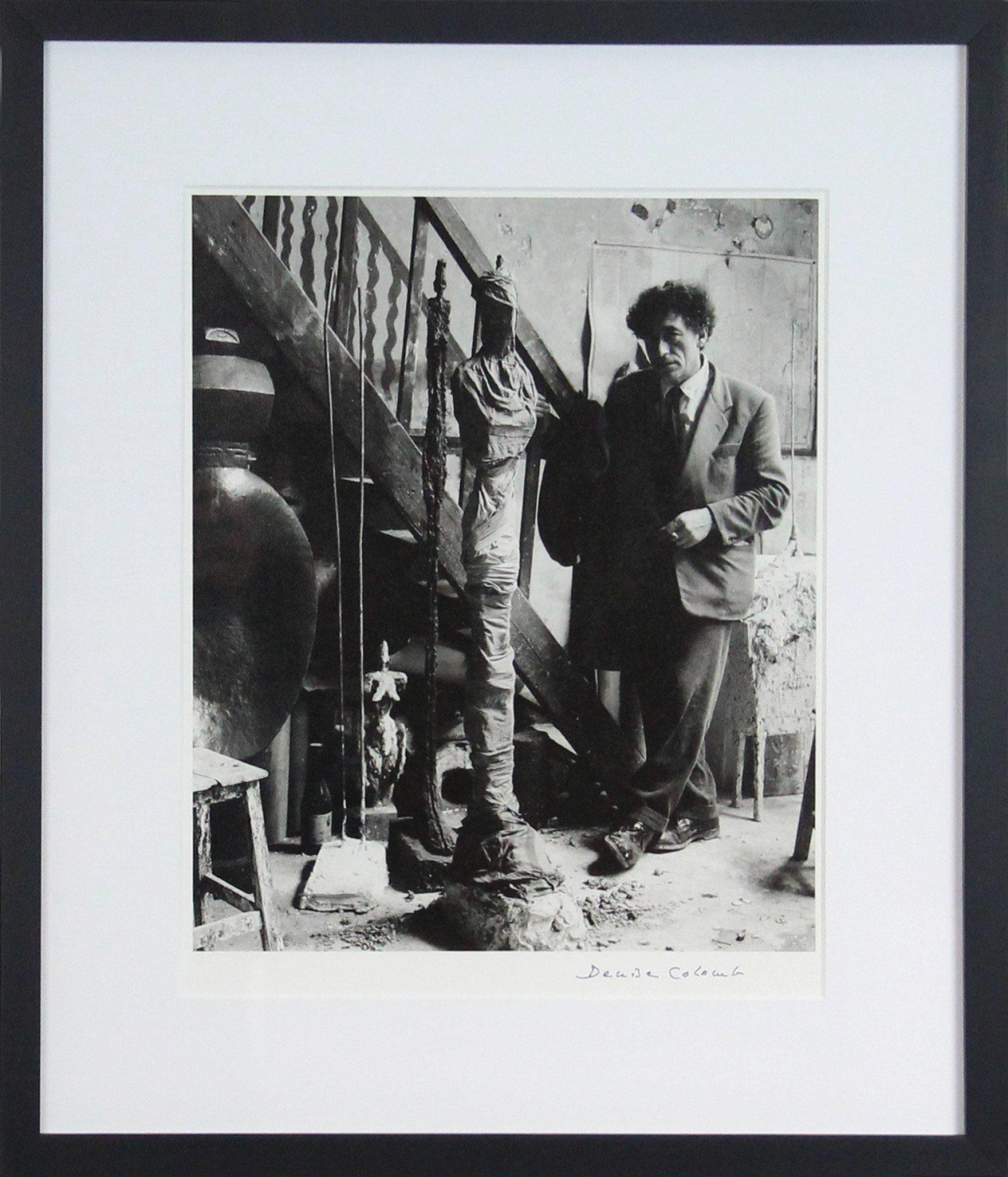 """""""Alberto Giacometti"""", 1954, de Denise Colomb"""