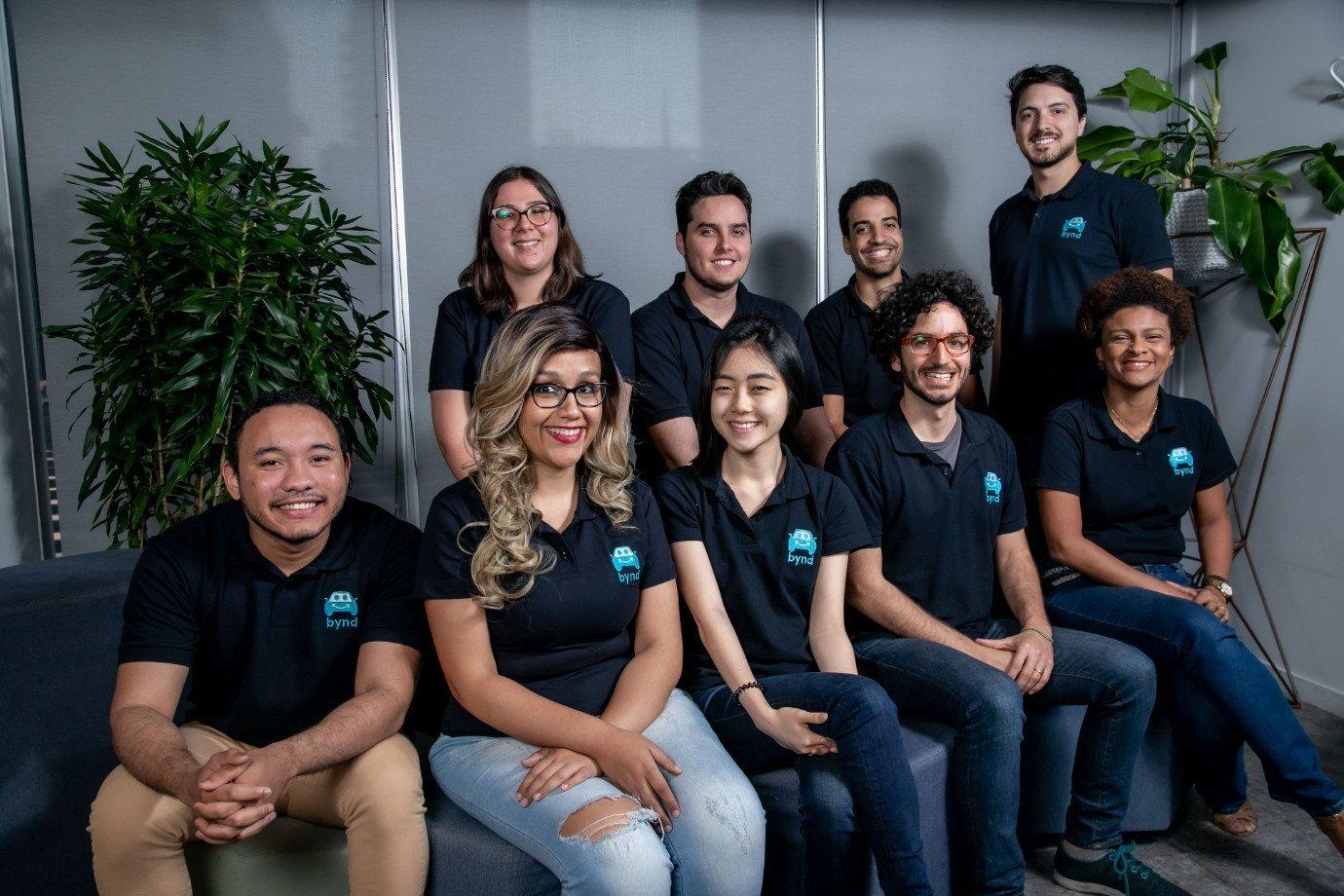Equipe da startup Bynd