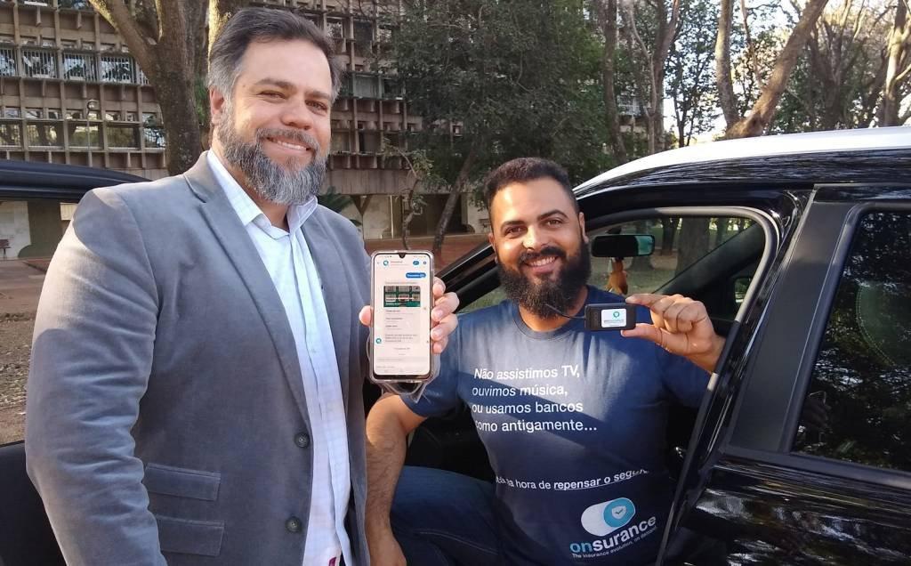 Ricardo Bernardes, fundador e CEO, e Adilair Silva, co-fundador e CMO da Onsurance