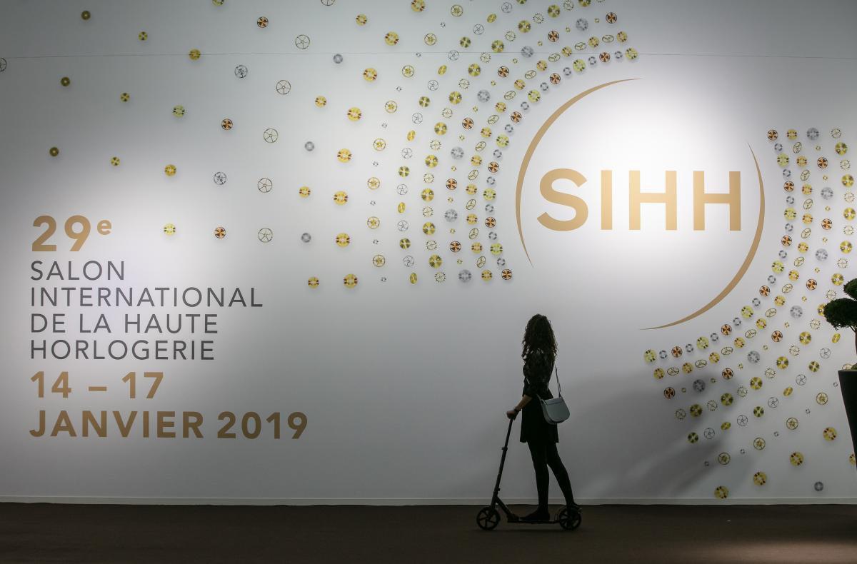 SIHH, em Genebra: novo nome de olho no futuro