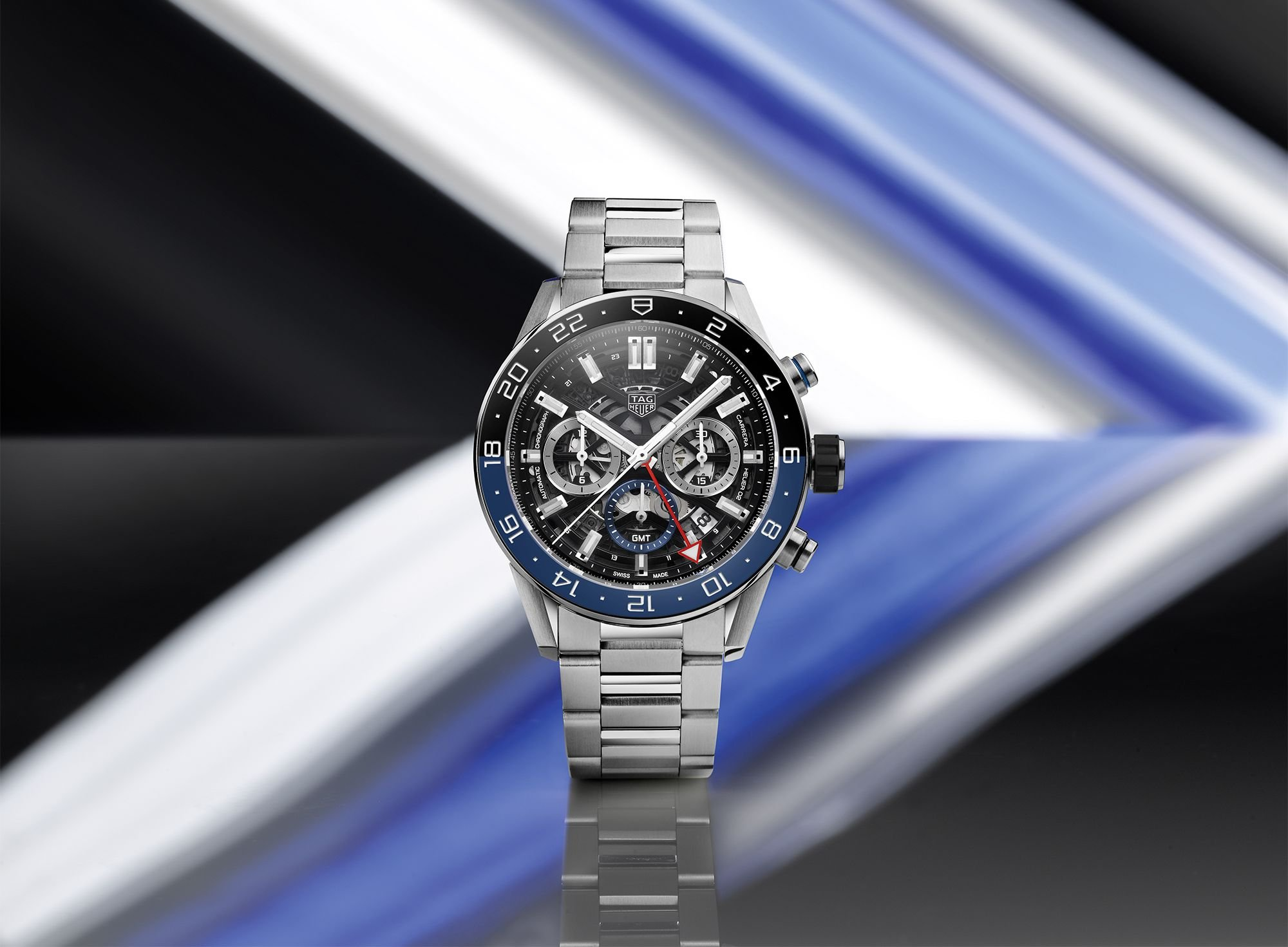 Tag Heuer Carrera GMT Automatic Chronograph