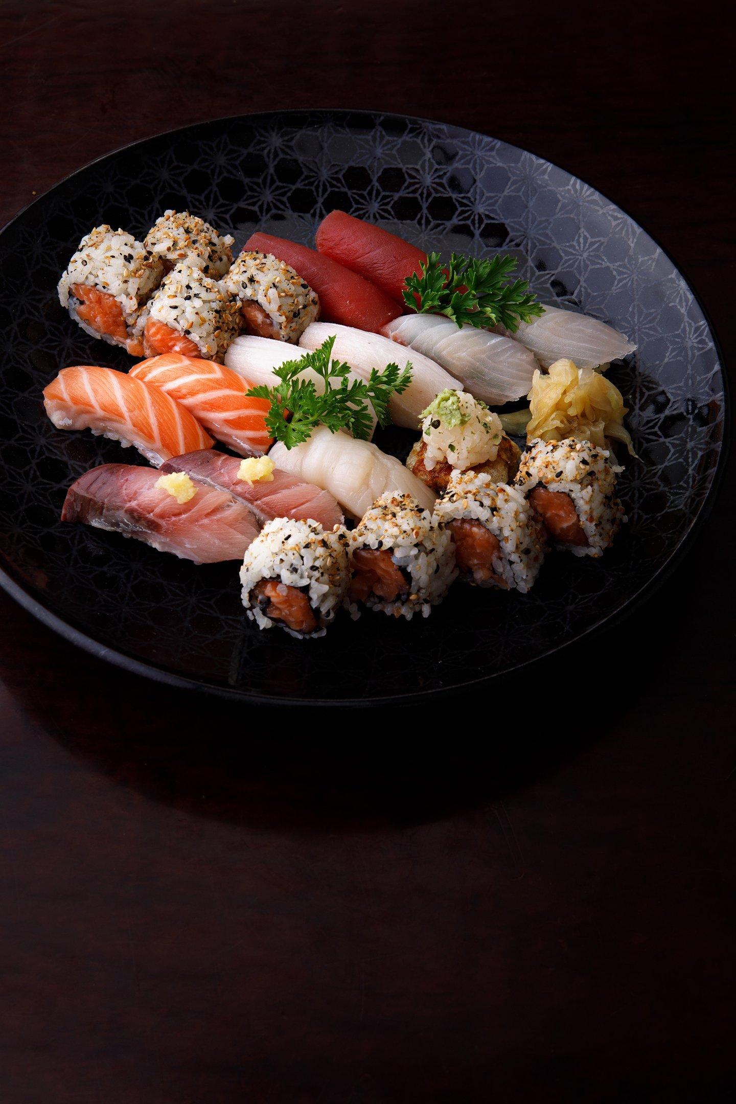 Crudo por Jun Sakamoto - Sushi Especial, 6 Duplas e 8 Uramaki: no menu do Fasano Angra dos Reis
