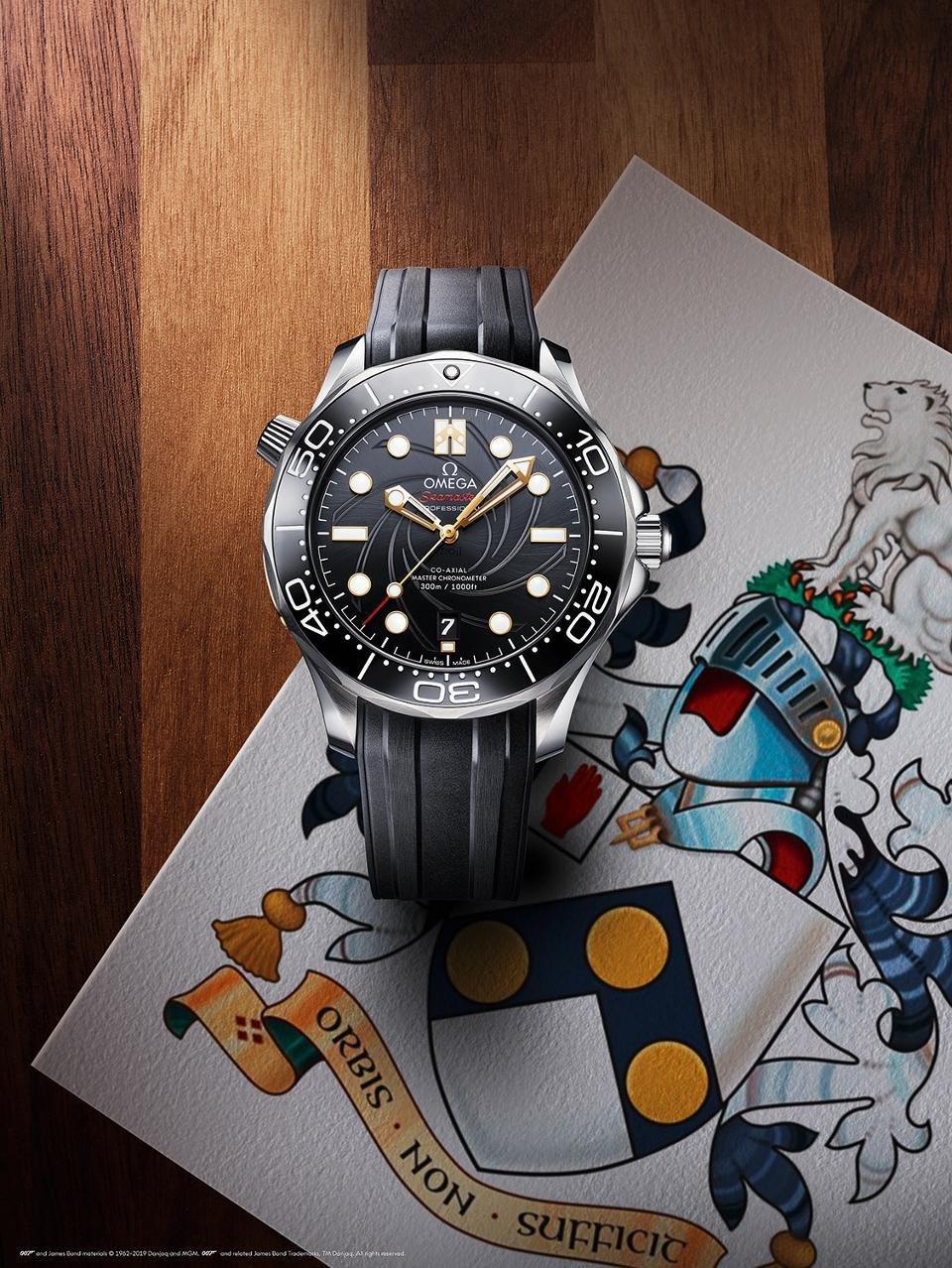 Relógio Omega: homenagem a filme da franquia 007