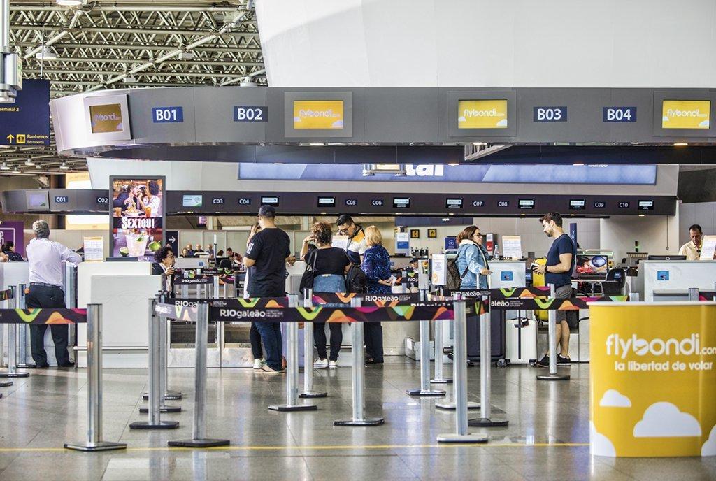 Revista Voce SA / out 2019Flybondi / Aeroporto Galeão RJ