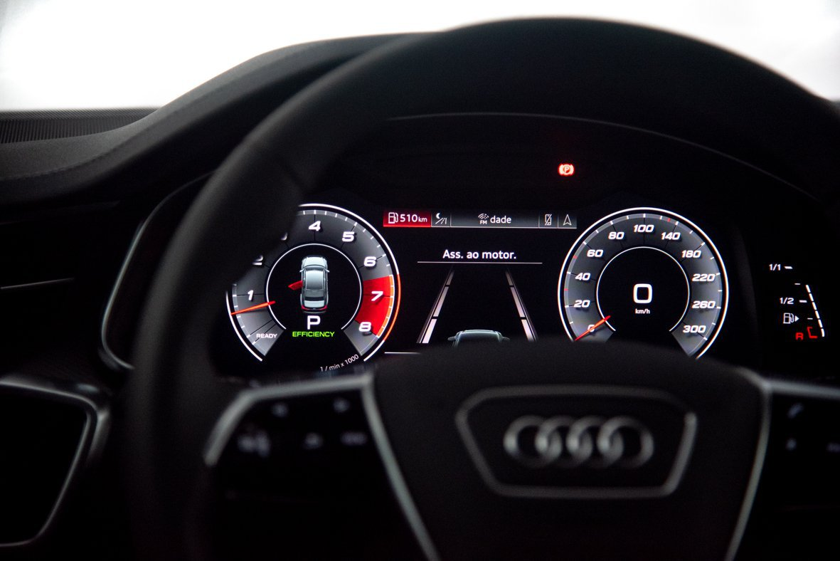 Audi: Visto por dentro, A6 e A7 são praticamente iguais