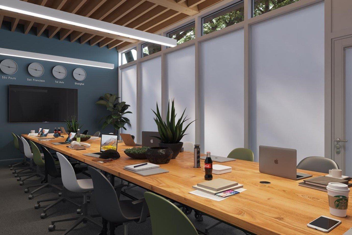 Projeto da centro de inteligência artificial da Olivia, em Palo Alto (Vale do Silício, Estados Unidos)