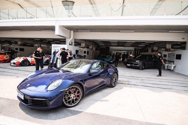 Porsche: teste no autódromo de Interlagos