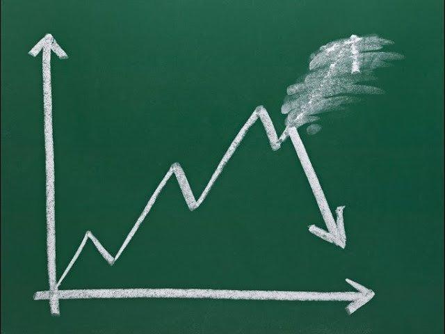 Gráfico mostra queda de índice de investimento