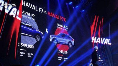Haval F7x é lançado na Rússia (PRNewsfoto/Haval)