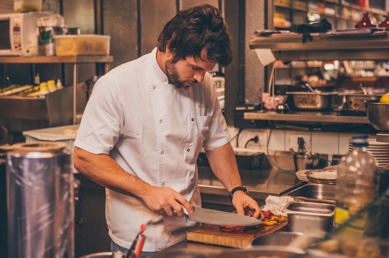 Cozinheiro Marcelo Tanus