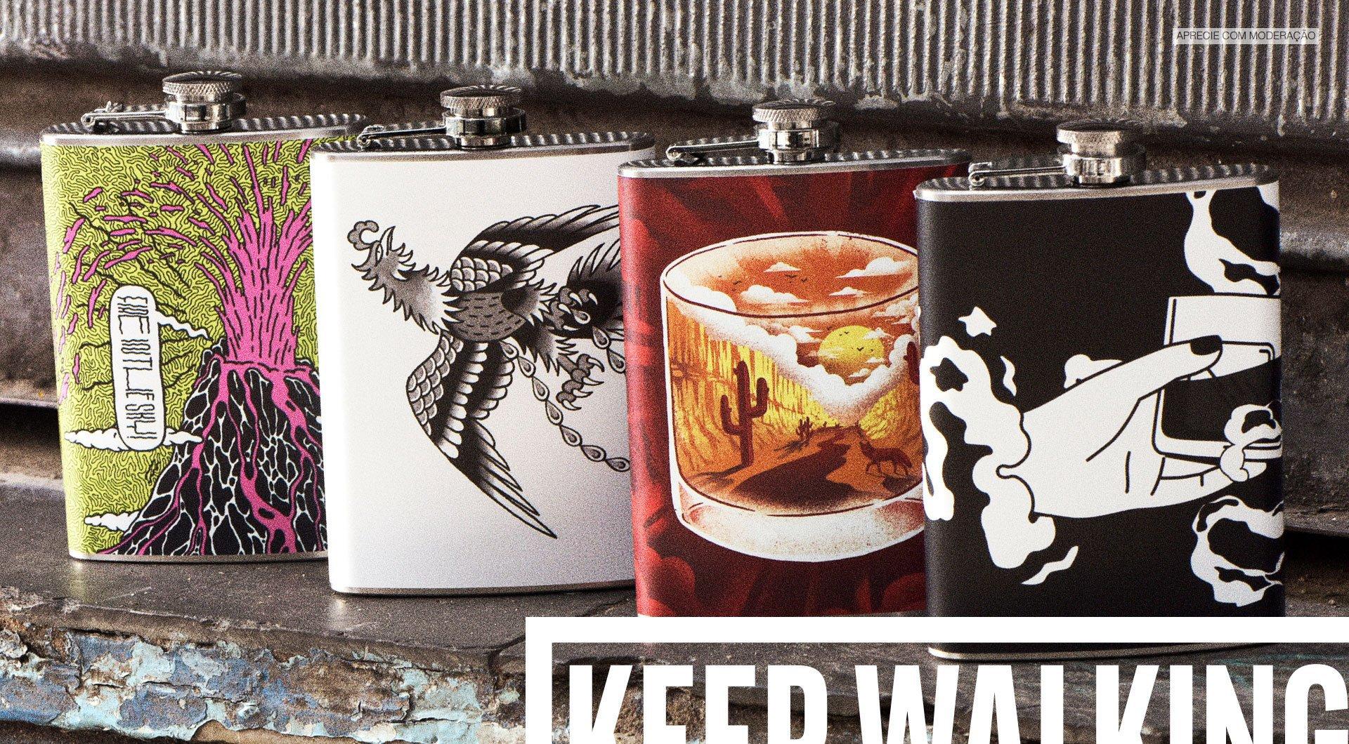Flasks da Johnnie Walker