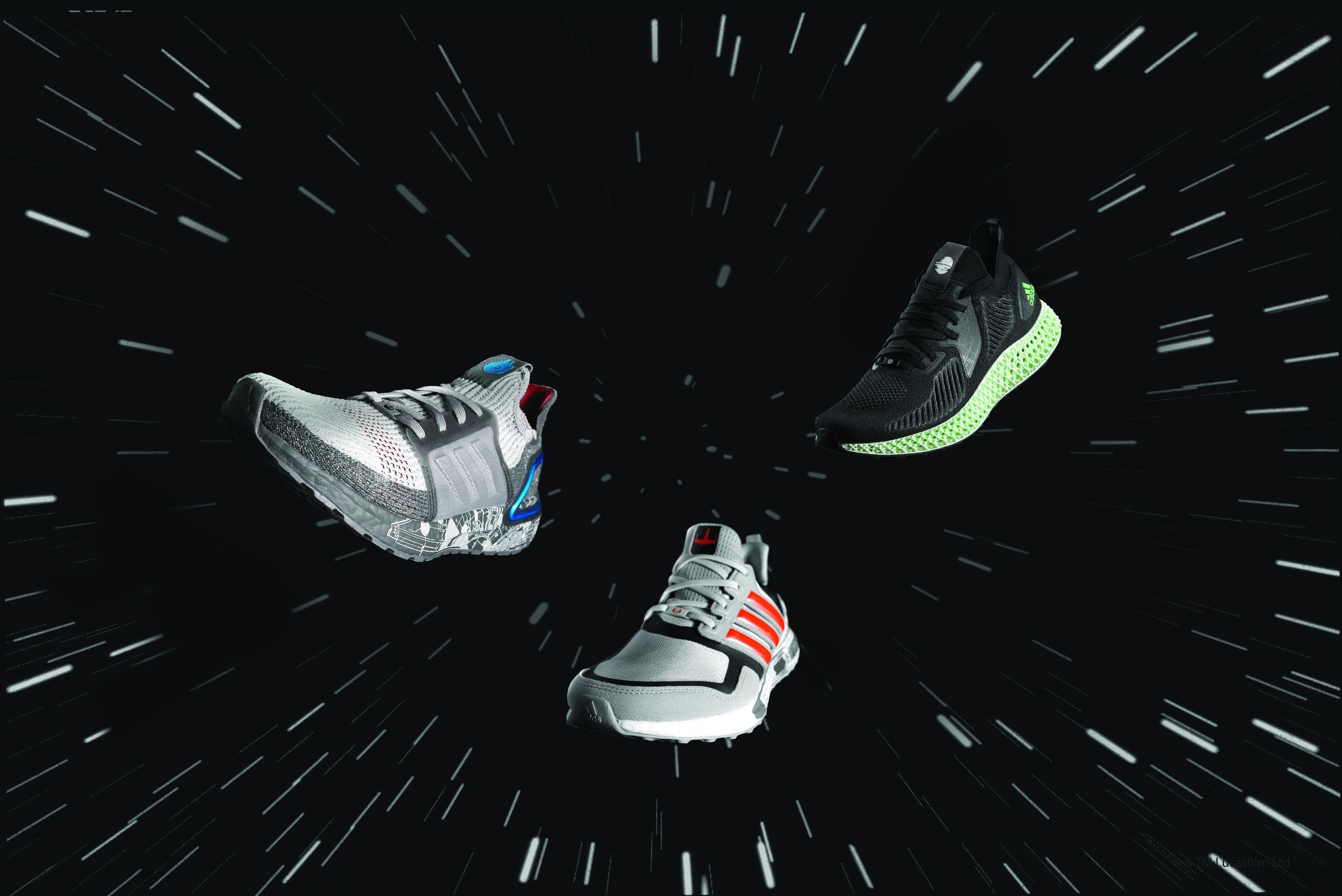 Lançamentos da Adidas: tênis para novo filme da saga Star Wars