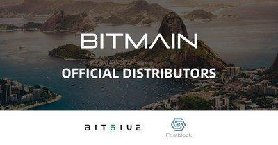 A Bitmain fortalece seu alcance global: nomeia a Bit5ive e a Fastblock como distribuidoras oficiais dos mineradores Antminers na América do Sul