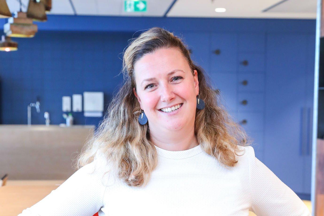 Marianne Gybels, diretora de sustentabilidade da Booking.com