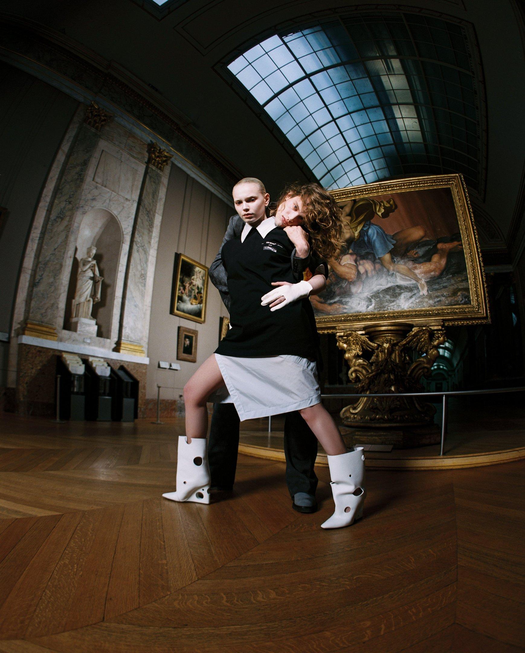 Off-White e Louvre: parceria nos 500 anos de Da Vinci