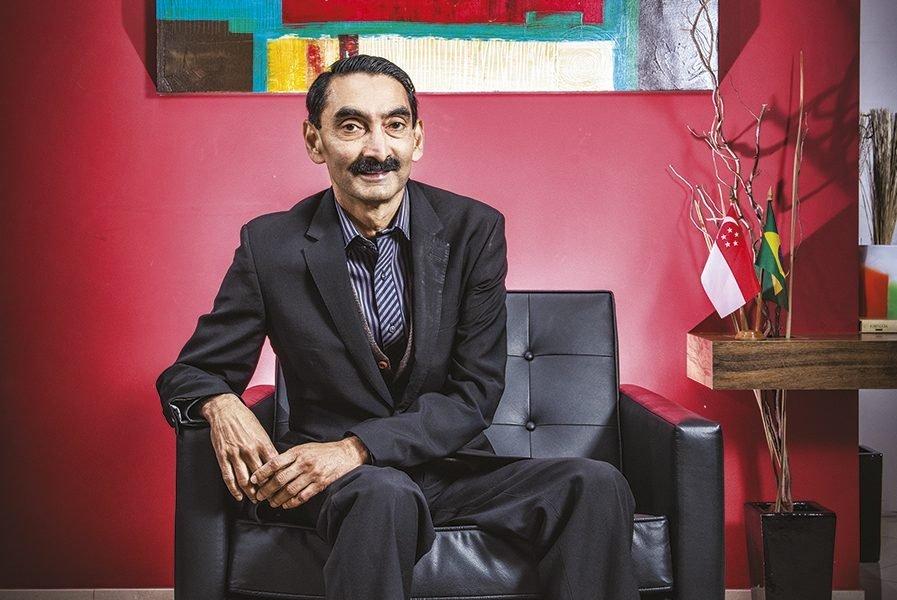 Dr Raj Thampuran, presidente da A*Star,Foto: Germano Lüders25/09/2019