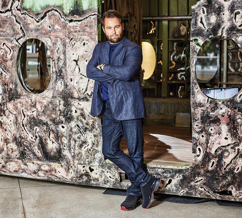 Marcos Amaro: depois de vender a Óticas Carol, ele virou artista plástico, comprou uma galeria e criou uma fundação   Rafael Dabul