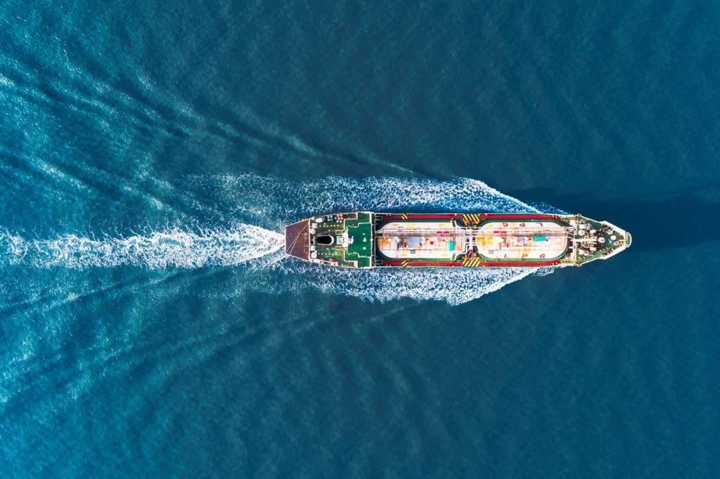 Navio petroleiro petróleo