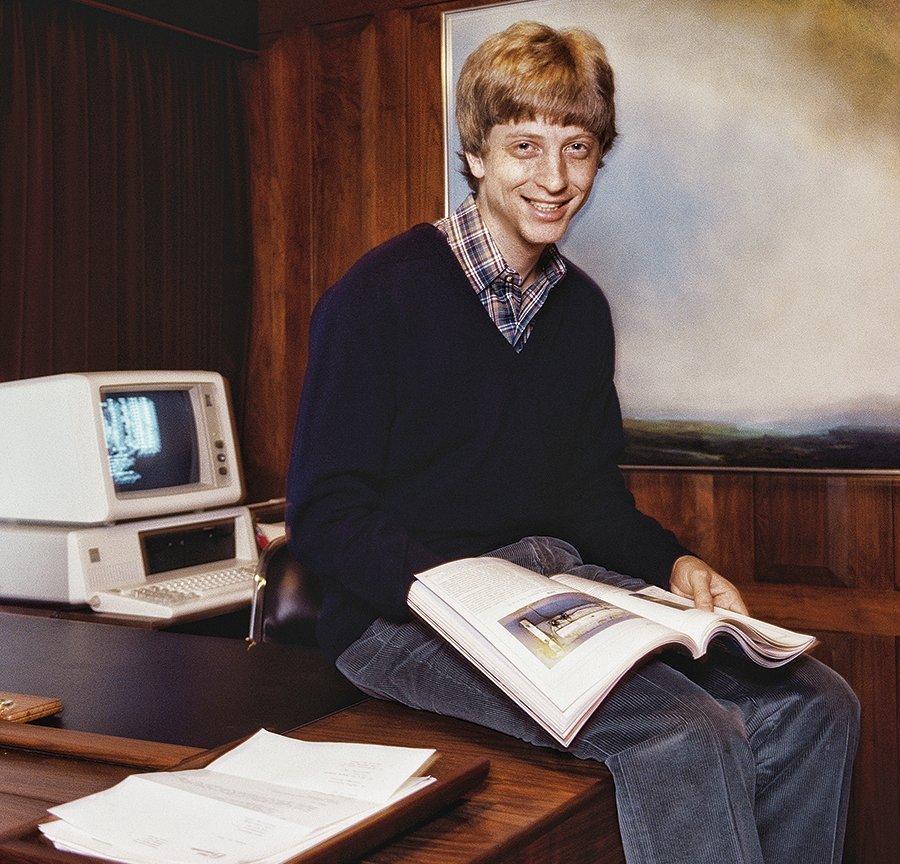 Bill Gates, fundador da Microsoft: primeira geração de devs | Doug Wilson/Getty Images
