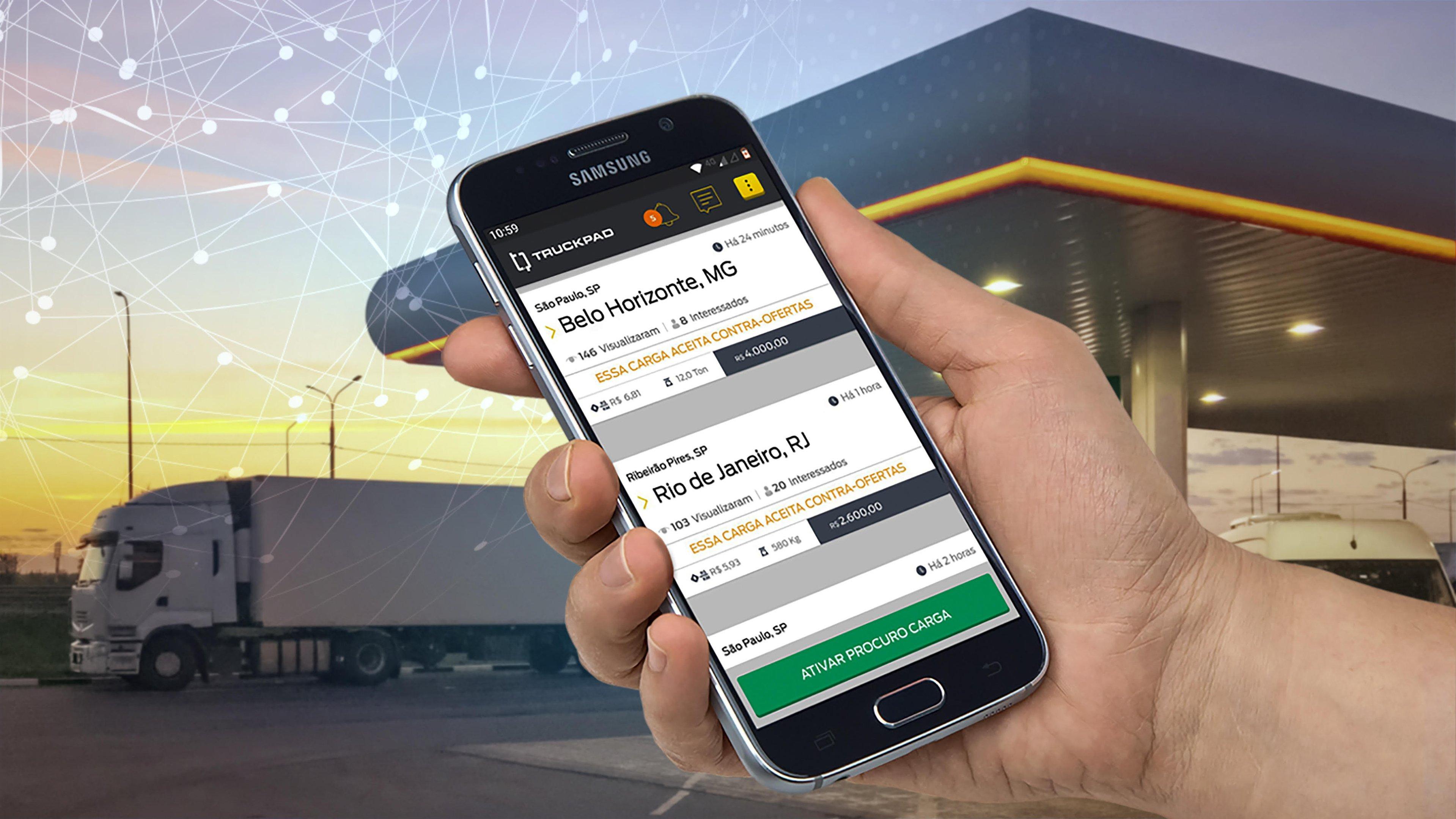 """Antes focada em carga, TruckPad planeja ser """"shopping dos caminhoneiros""""   Exame"""