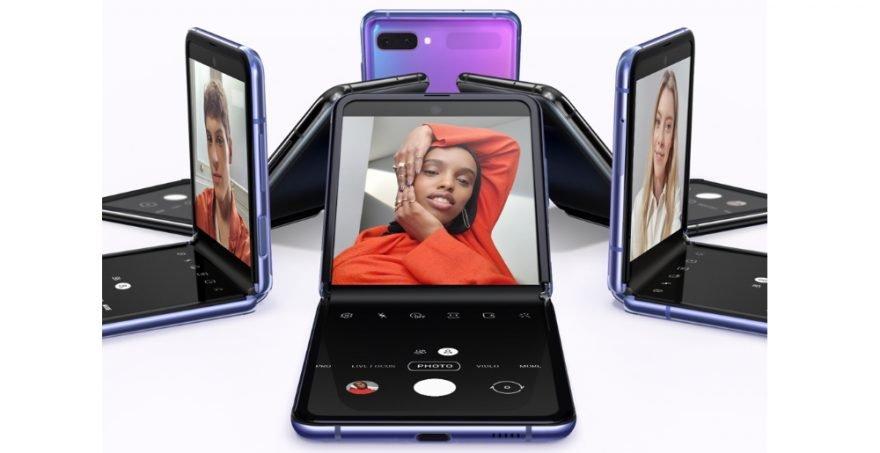 Smartphone dobrável Samsung Galaxy Z Flip