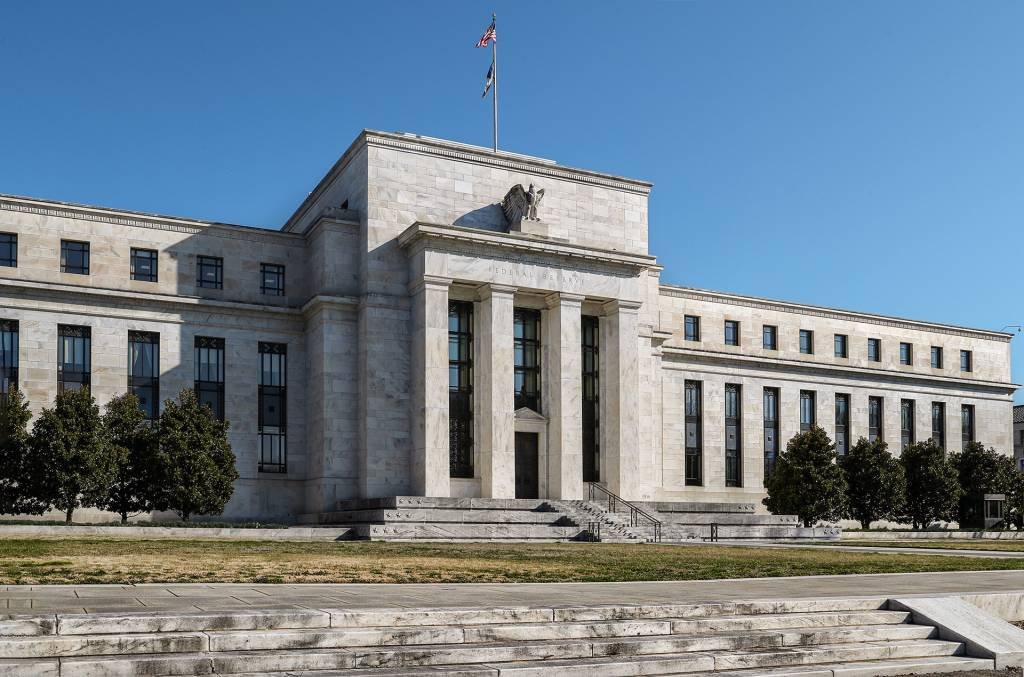 Edifício do Federal Reserve em Washington, Estados Unidos