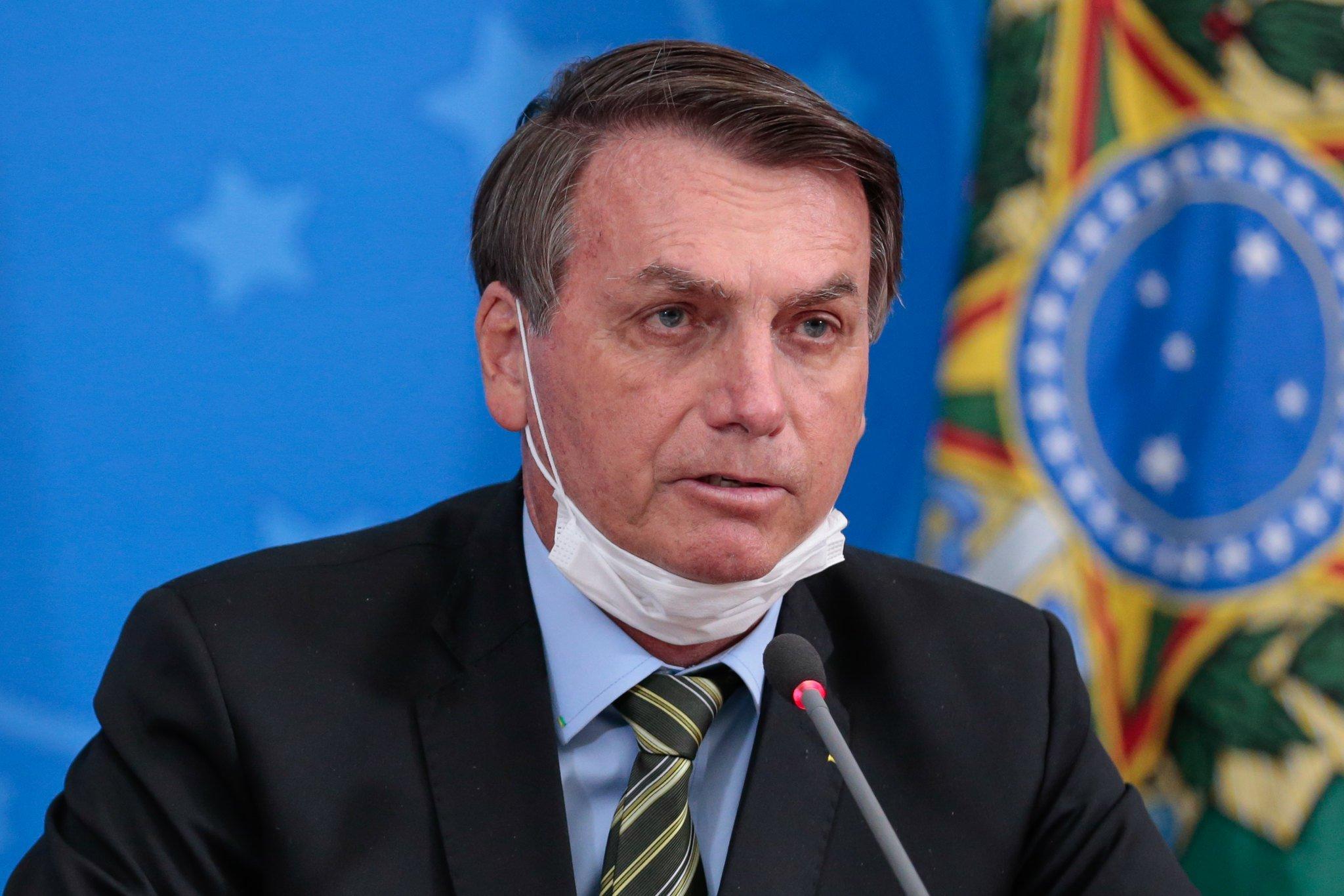 Antes de encontrar Mandetta, Bolsonaro reforça defesa de ...