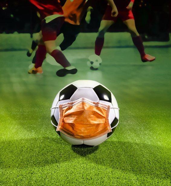 Times de futebol incentivam a prevenção ao coronavírus | Exame