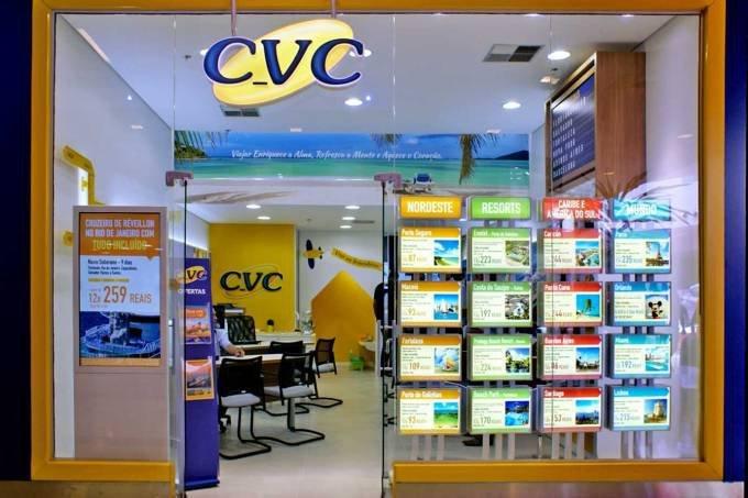 CVC sobe 20% e vira protagonista da bolsa mesmo com turismo congelado
