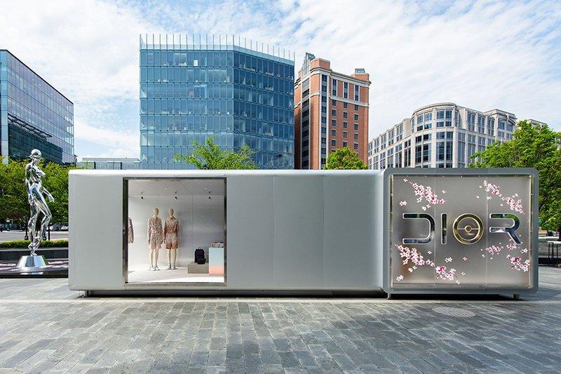Dior: loja pop up