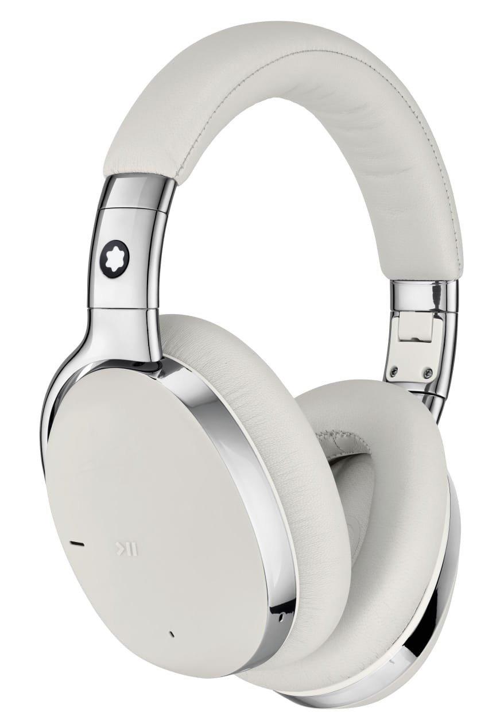 Headphone da Montblanc: produto inédito da marca de luxo