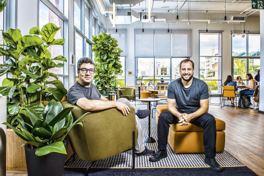 André Penha e Gabriel Braga, da QuintoAndar: uma das primeiras startups a trazer tecnologia para os aluguéis | Germano Lüders