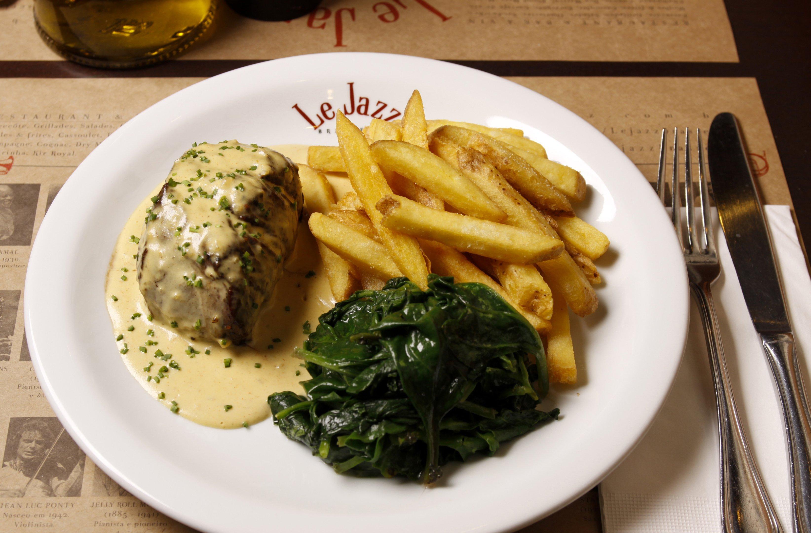 Le Jazz Brasserie: Filet à la Moutarde