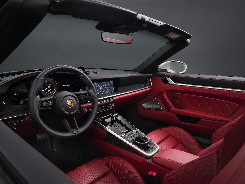 Interior do Porsche 911 Turbo S