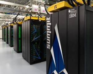 O supercomputador Summit, da IBM