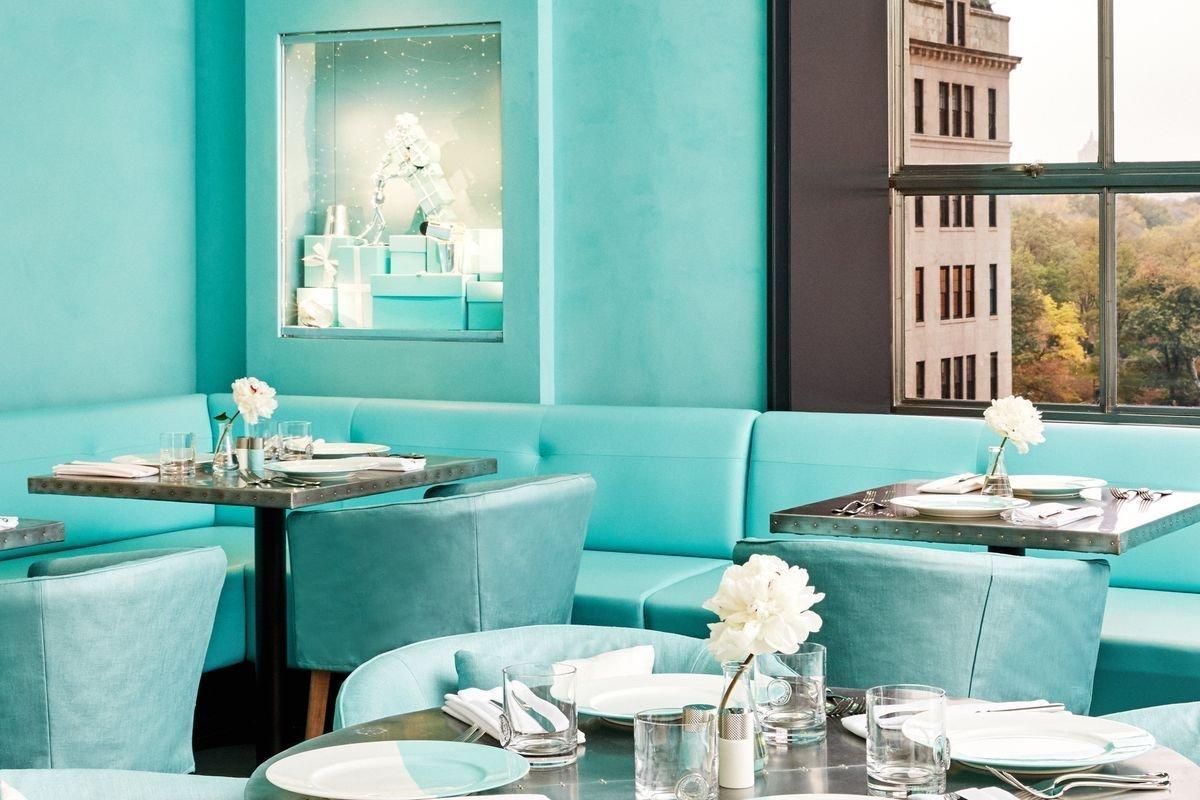 Blue Box Café, da Tiffany