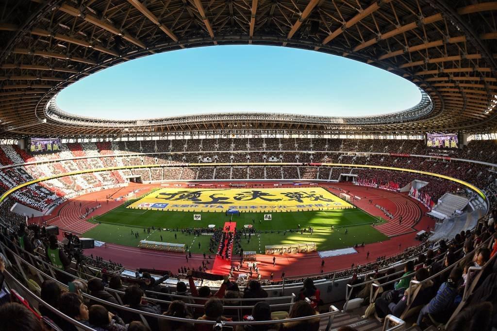 Novo Estádio Nacional, em Tóquio