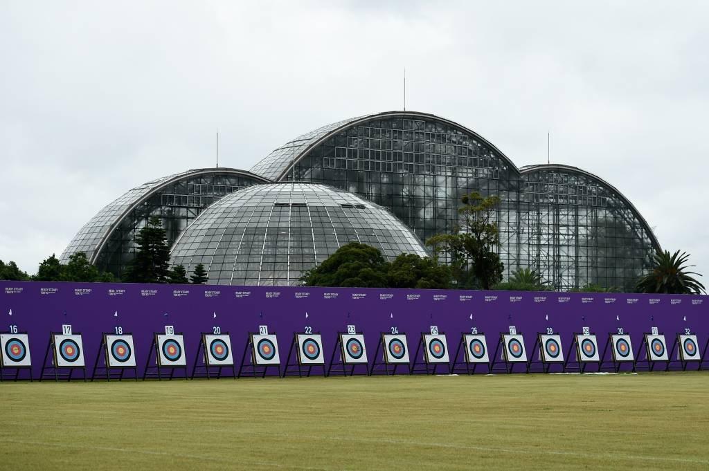 Yumenoshima Park Archery Field, em Tóquio