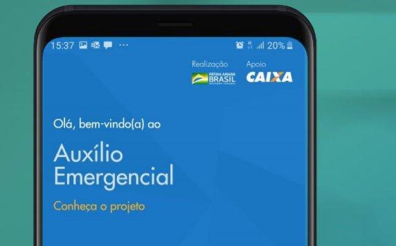 App do auxílio emergencial