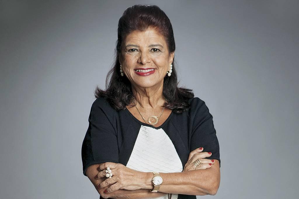 Luiza Helena Trajano, presidente do conselho administrativo do Magazine Luiza