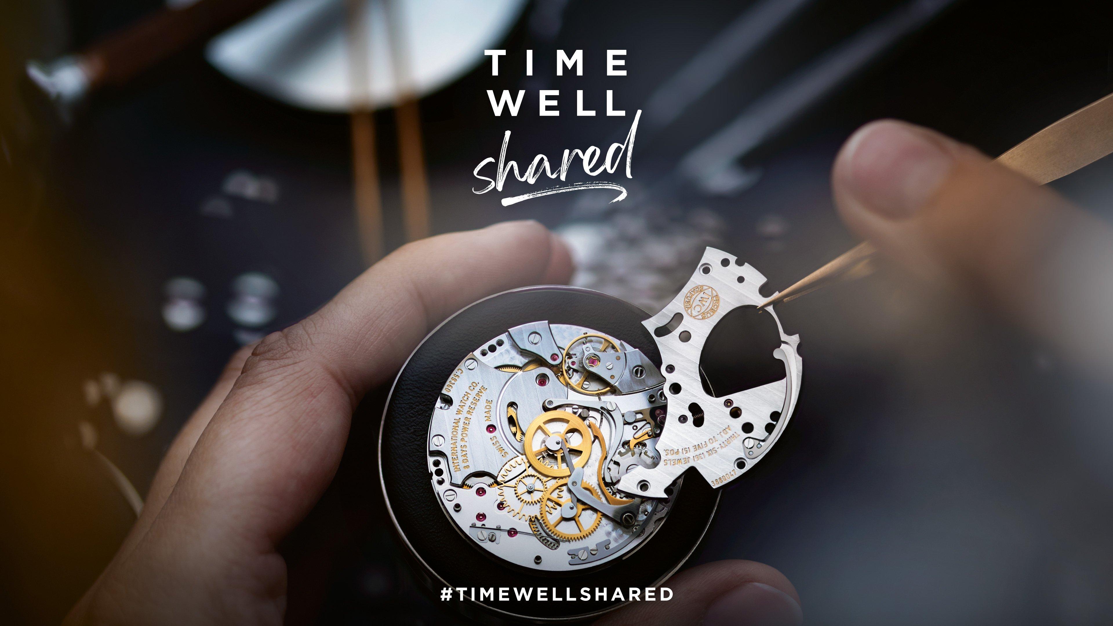 """""""Time Well Shared"""", da IWC"""