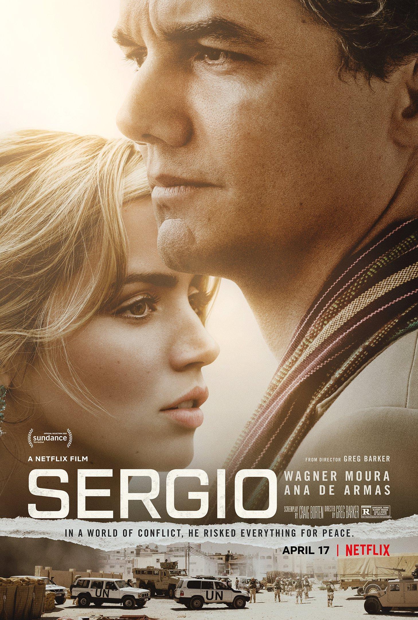 """Cartaz do filme """"Sérgio"""""""