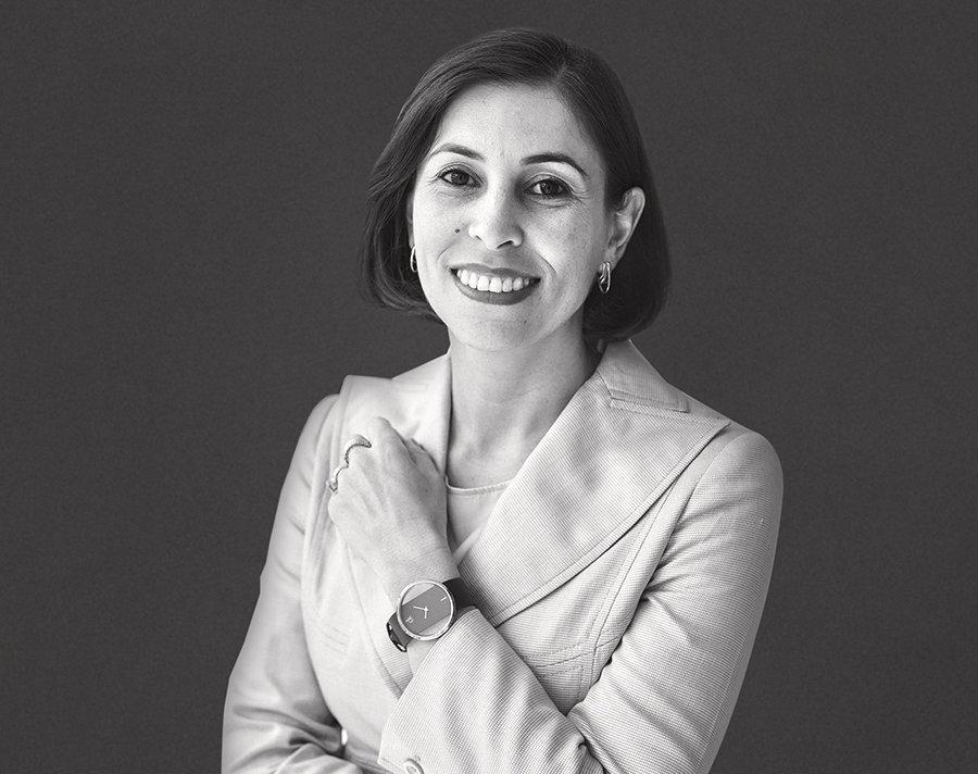 Viviane Martins, presidente da Falconi, em 2020